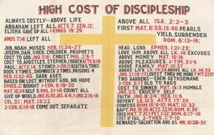 Primary view of object titled 'High Cost of Discipleship'.