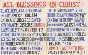 Primary view of object titled 'All Blessings in Christ'.