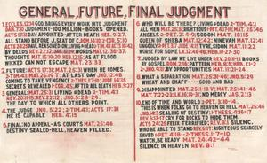 Primary view of object titled 'General, Future, Final Judgment'.