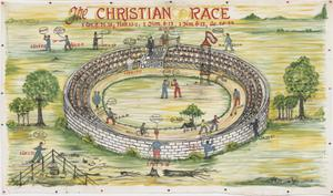 Primary view of object titled 'The Christian Race'.