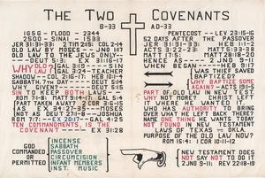Primary view of object titled 'The Two Covenants'.