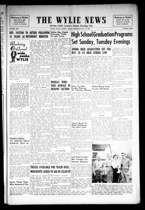 Primary view of object titled 'The Wylie News (Wylie, Tex.), Vol. 10, No. 4, Ed. 1 Thursday, May 16, 1957'.
