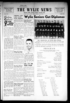 Primary view of object titled 'The Wylie News (Wylie, Tex.), Vol. 10, No. 5, Ed. 1 Thursday, May 23, 1957'.