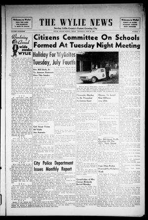Primary view of object titled 'The Wylie News (Wylie, Tex.), Vol. 14, No. 9, Ed. 1 Thursday, June 29, 1961'.