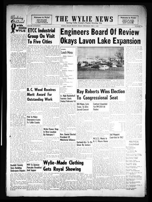 Primary view of object titled 'The Wylie News (Wylie, Tex.), Vol. 14, No. 39, Ed. 1 Thursday, February 1, 1962'.