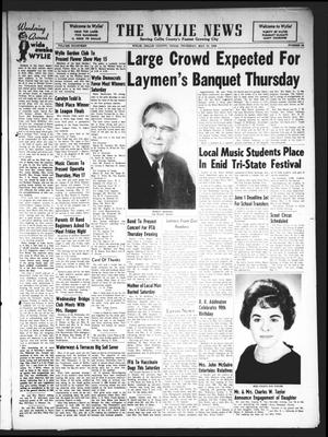 Primary view of object titled 'The Wylie News (Wylie, Tex.), Vol. 15, No. 1, Ed. 1 Thursday, May 10, 1962'.