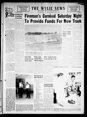 Primary view of object titled 'The Wylie News (Wylie, Tex.), Vol. 15, No. 10, Ed. 1 Thursday, July 12, 1962'.