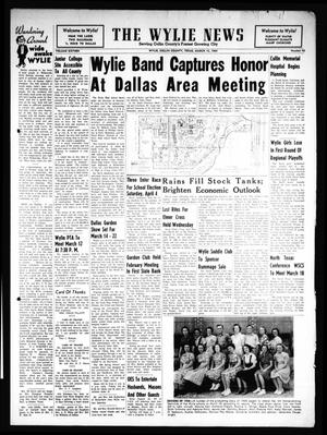 Primary view of object titled 'The Wylie News (Wylie, Tex.), Vol. 16, No. 43, Ed. 1 Thursday, March 12, 1964'.