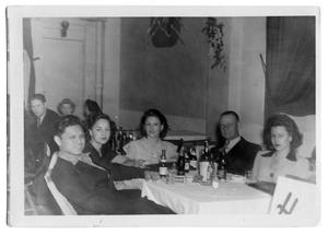 Group of people around a table