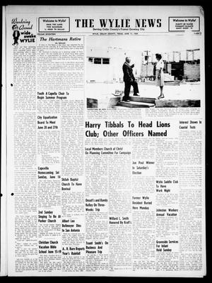 Primary view of object titled 'The Wylie News (Wylie, Tex.), Vol. 17, No. 5, Ed. 1 Thursday, June 11, 1964'.