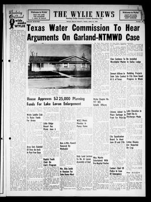 Primary view of object titled 'The Wylie News (Wylie, Tex.), Vol. 17, No. 6, Ed. 1 Thursday, June 18, 1964'.