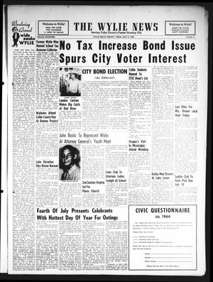 Primary view of object titled 'The Wylie News (Wylie, Tex.), Vol. 17, No. 9, Ed. 1 Thursday, July 9, 1964'.