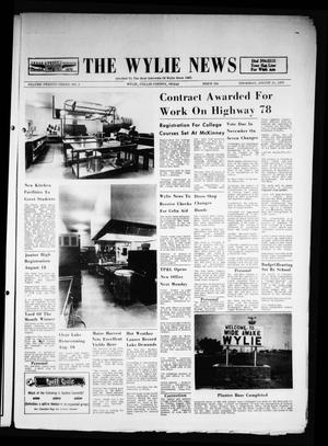 Primary view of object titled 'The Wylie News (Wylie, Tex.), Vol. 23, No. 9, Ed. 1 Thursday, August 13, 1970'.