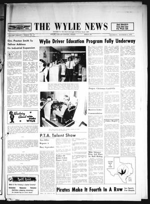 Primary view of object titled 'The Wylie News (Wylie, Tex.), Vol. 23, No. 17, Ed. 1 Thursday, October 8, 1970'.