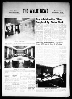 Primary view of object titled 'The Wylie News (Wylie, Tex.), Vol. 23, No. 33, Ed. 1 Thursday, February 4, 1971'.