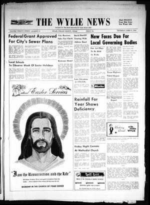Primary view of object titled 'The Wylie News (Wylie, Tex.), Vol. 23, No. 42, Ed. 1 Thursday, April 8, 1971'.