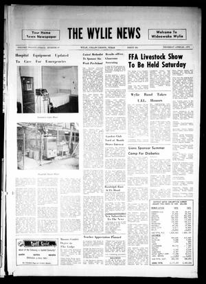 Primary view of object titled 'The Wylie News (Wylie, Tex.), Vol. 23, No. 45, Ed. 1 Thursday, April 29, 1971'.