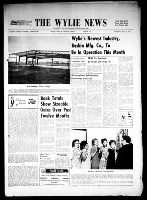 Primary view of object titled 'The Wylie News (Wylie, Tex.), Vol. 23, No. 46, Ed. 1 Thursday, May 6, 1971'.