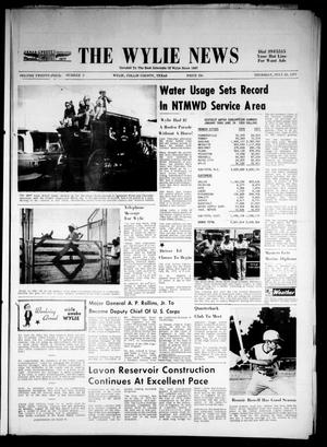 Primary view of object titled 'The Wylie News (Wylie, Tex.), Vol. 24, No. 5, Ed. 1 Thursday, July 22, 1971'.