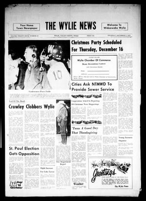 Primary view of object titled 'The Wylie News (Wylie, Tex.), Vol. 24, No. 24, Ed. 1 Thursday, December 2, 1971'.