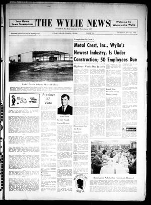 Primary view of object titled 'The Wylie News (Wylie, Tex.), Vol. 24, No. 46, Ed. 1 Thursday, May 11, 1972'.