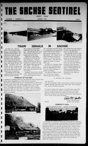 Primary view of object titled 'The Sachse Sentinel (Sachse, Tex.), Vol. 1, No. 8, Ed. 1 Sunday, August 1, 1976'.