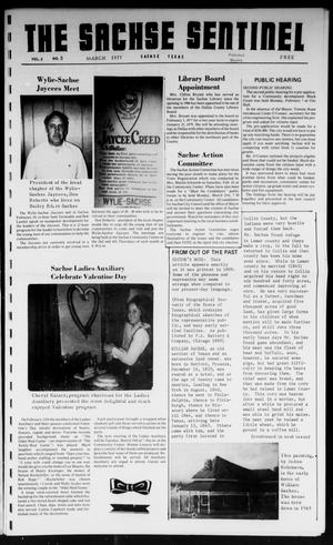 Primary view of object titled 'The Sachse Sentinel (Sachse, Tex.), Vol. 2, No. 3, Ed. 1 Tuesday, March 1, 1977'.