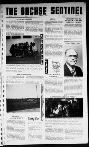 Primary view of object titled 'The Sachse Sentinel (Sachse, Tex.), Vol. 2, No. 5, Ed. 1 Sunday, May 1, 1977'.
