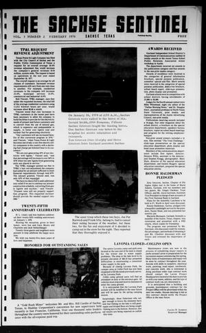 Primary view of object titled 'The Sachse Sentinel (Sachse, Tex.), Vol. 3, No. 2, Ed. 1 Wednesday, February 1, 1978'.