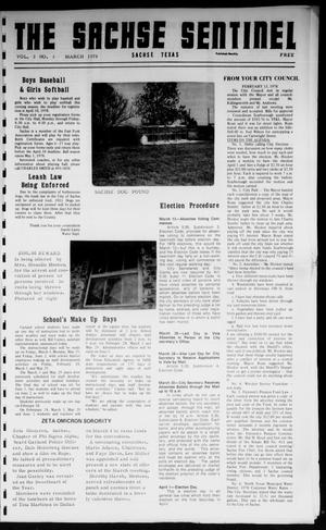 Primary view of object titled 'The Sachse Sentinel (Sachse, Tex.), Vol. 3, No. 3, Ed. 1 Wednesday, March 1, 1978'.