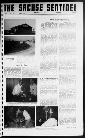 Primary view of object titled 'The Sachse Sentinel (Sachse, Tex.), Vol. 3, No. 5, Ed. 1 Monday, May 1, 1978'.