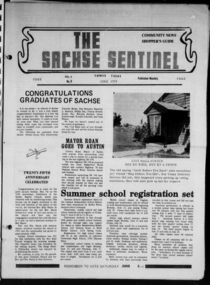 Primary view of object titled 'The Sachse Sentinel (Sachse, Tex.), Vol. 3, No. 6, Ed. 1 Thursday, June 1, 1978'.