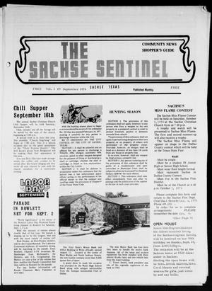 Primary view of object titled 'The Sachse Sentinel (Sachse, Tex.), Vol. 3, No. 9, Ed. 1 Friday, September 1, 1978'.