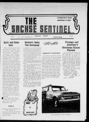Primary view of object titled 'The Sachse Sentinel (Sachse, Tex.), Vol. 3, No. 12, Ed. 1 Friday, December 1, 1978'.