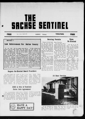 Primary view of object titled 'The Sachse Sentinel (Sachse, Tex.), Vol. 4, No. 5, Ed. 1 Tuesday, May 1, 1979'.