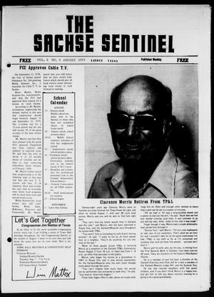 Primary view of object titled 'The Sachse Sentinel (Sachse, Tex.), Vol. 4, No. 8, Ed. 1 Wednesday, August 1, 1979'.