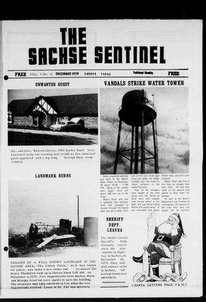 Primary view of object titled 'The Sachse Sentinel (Sachse, Tex.), Vol. 4, No. 12, Ed. 1 Saturday, December 1, 1979'.