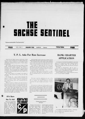 Primary view of object titled 'The Sachse Sentinel (Sachse, Tex.), Vol. 5, No. 1, Ed. 1 Tuesday, January 1, 1980'.