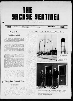 Primary view of object titled 'The Sachse Sentinel (Sachse, Tex.), Vol. 5, No. 3, Ed. 1 Saturday, March 1, 1980'.