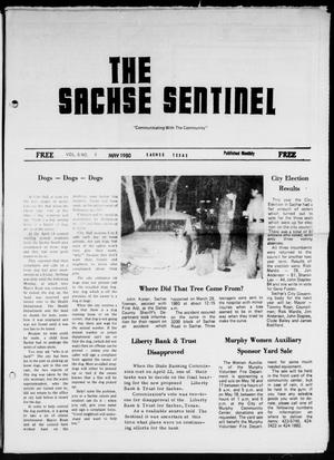 Primary view of object titled 'The Sachse Sentinel (Sachse, Tex.), Vol. 5, No. 5, Ed. 1 Thursday, May 1, 1980'.