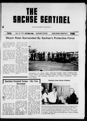 Primary view of object titled 'The Sachse Sentinel (Sachse, Tex.), Vol. 5, No. 10, Ed. 1 Wednesday, October 1, 1980'.