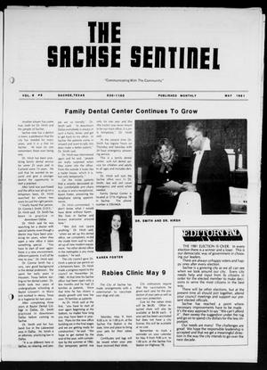 Primary view of object titled 'The Sachse Sentinel (Sachse, Tex.), Vol. 6, No. 5, Ed. 1 Friday, May 1, 1981'.