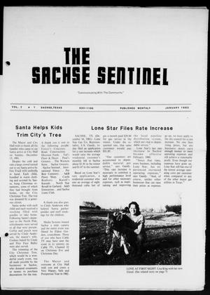 Primary view of object titled 'The Sachse Sentinel (Sachse, Tex.), Vol. 7, No. 1, Ed. 1 Friday, January 1, 1982'.