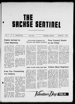 Primary view of object titled 'The Sachse Sentinel (Sachse, Tex.), Vol. 7, No. 2, Ed. 1 Monday, February 1, 1982'.