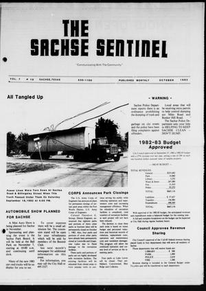 Primary view of object titled 'The Sachse Sentinel (Sachse, Tex.), Vol. 7, No. 10, Ed. 1 Friday, October 1, 1982'.