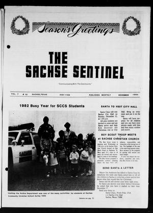 Primary view of object titled 'The Sachse Sentinel (Sachse, Tex.), Vol. 7, No. 12, Ed. 1 Wednesday, December 1, 1982'.