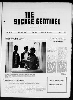 Primary view of object titled 'The Sachse Sentinel (Sachse, Tex.), Vol. 8, No. 5, Ed. 1 Sunday, May 1, 1983'.