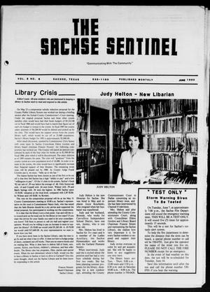 Primary view of object titled 'The Sachse Sentinel (Sachse, Tex.), Vol. 8, No. 6, Ed. 1 Wednesday, June 1, 1983'.