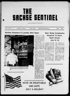 Primary view of object titled 'The Sachse Sentinel (Sachse, Tex.), Vol. 8, No. 7, Ed. 1 Friday, July 1, 1983'.