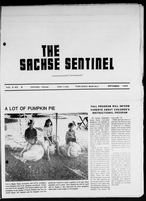 Primary view of object titled 'The Sachse Sentinel (Sachse, Tex.), Vol. 8, No. 9, Ed. 1 Thursday, September 1, 1983'.